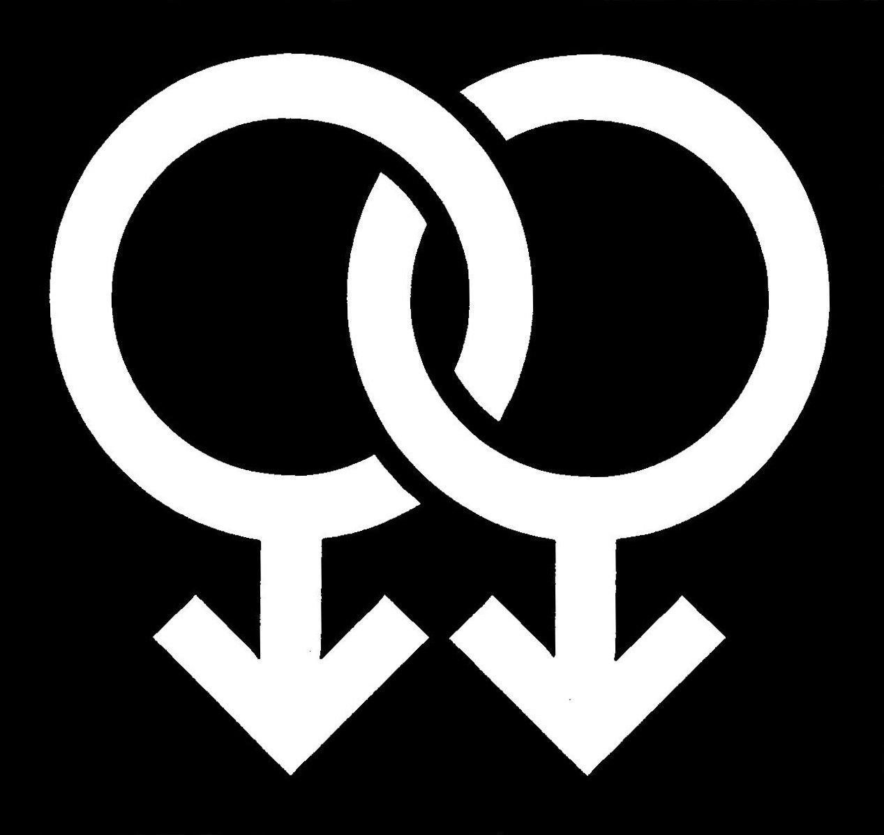 Pride Male Stencil