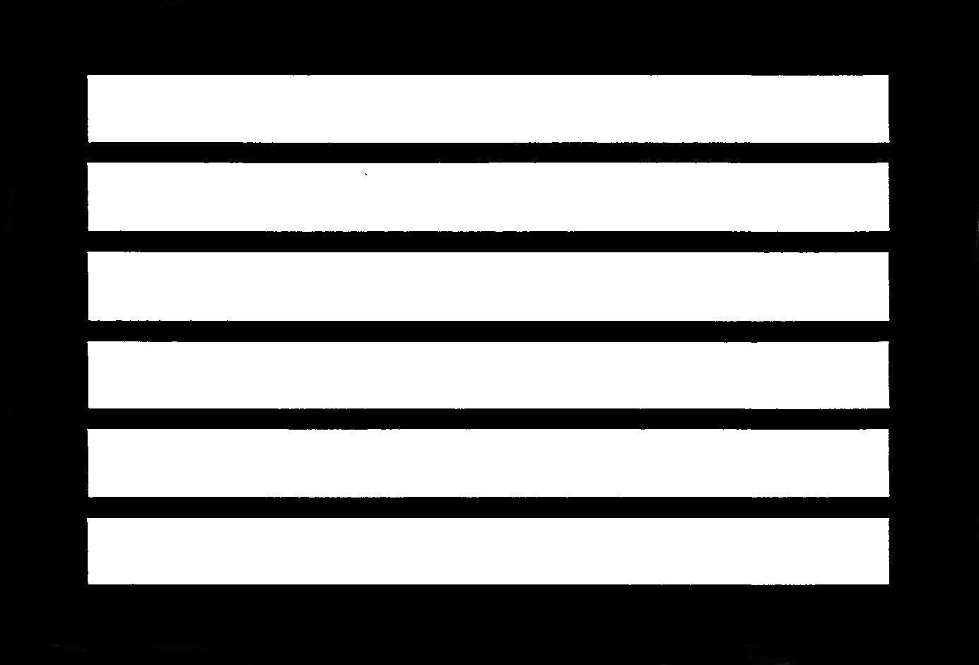 Rainbow Flag Stencil
