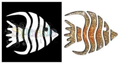 Angel Fish Stencil