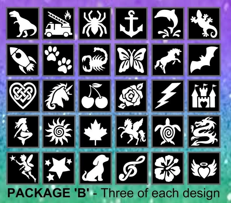 Bulk Stencil Package B