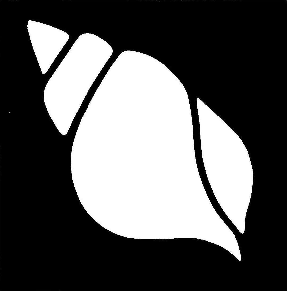 Conch Shell Stencil