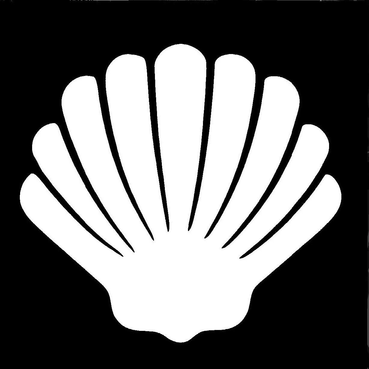 Scallop Shell Stencil