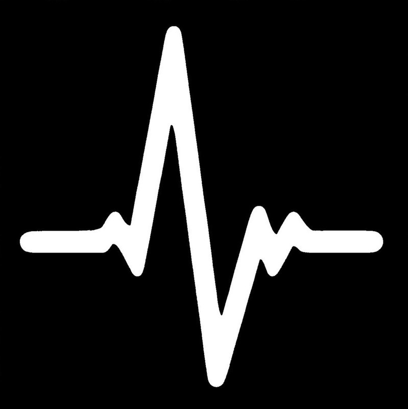 Heartbeat Stencil