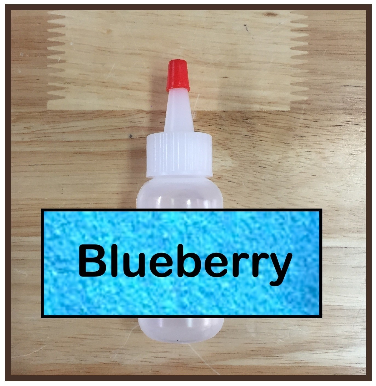 Blueberry Glitter Poof
