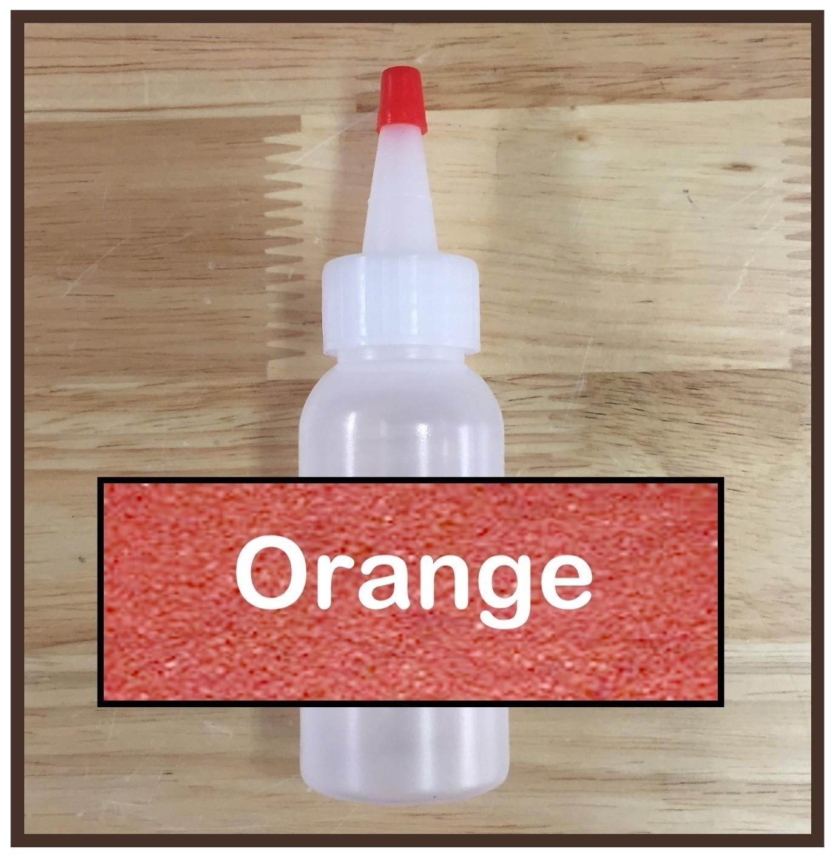 CLEARANCE! Orange Glitter Refill