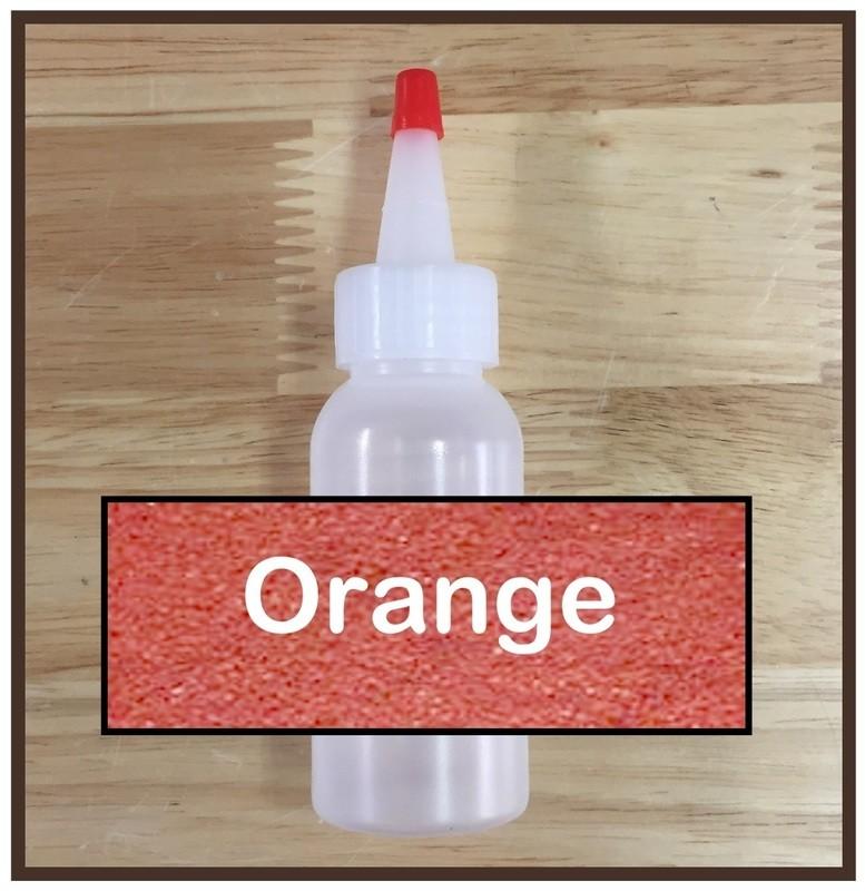 Orange Glitter Refill