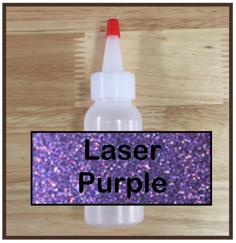 Laser Purple Glitter Refill