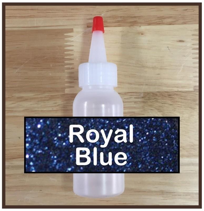 Royal Blue Glitter Refill