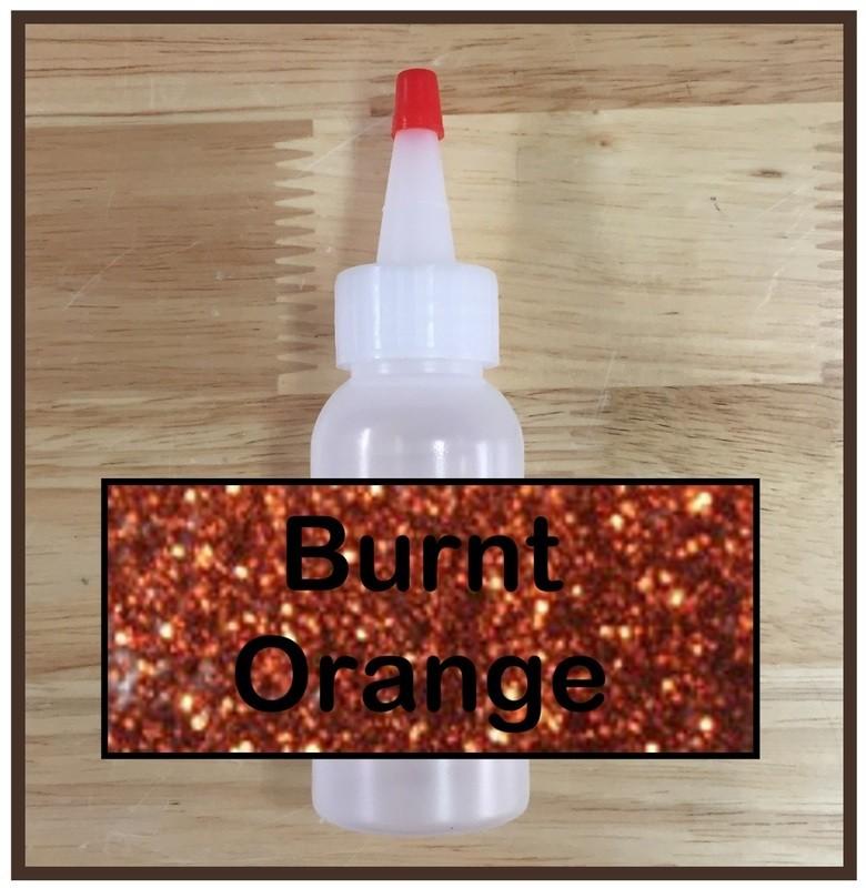 Burnt Orange Glitter Refill