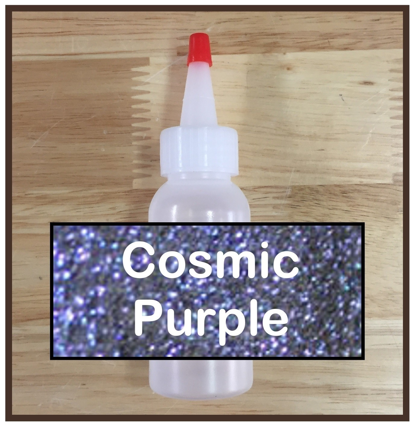 Cosmic Purple Glitter Refill
