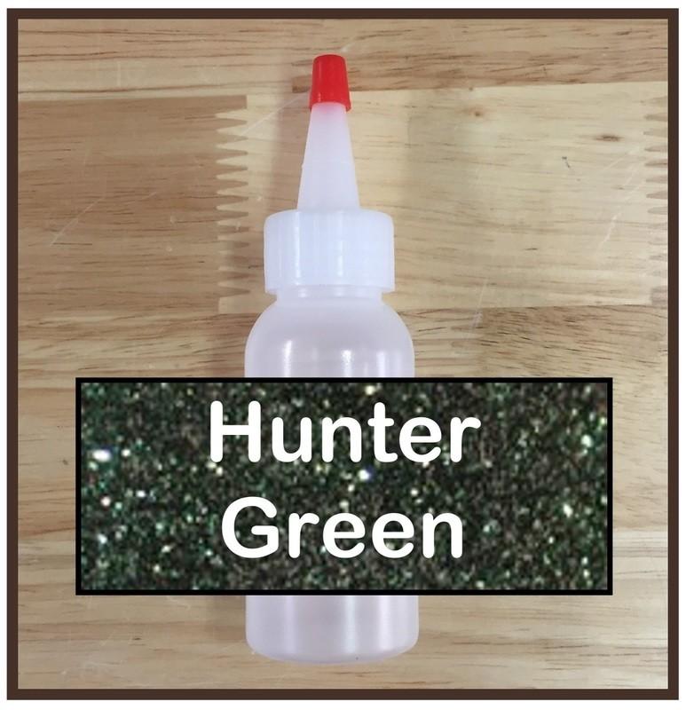 Hunter Green Glitter Refill