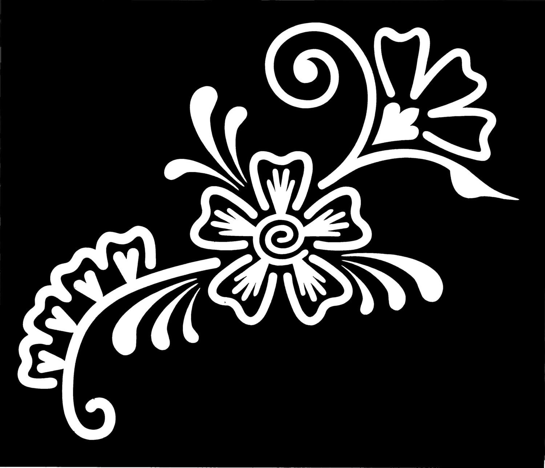 Henna Stencil - Large