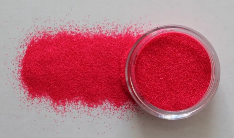 Neon Coral Glitter