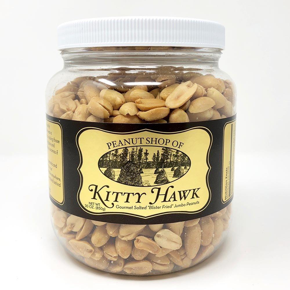 "Kitty Hawk Gourmet Salted ""Blister Fried"" Jumbo Peanuts"
