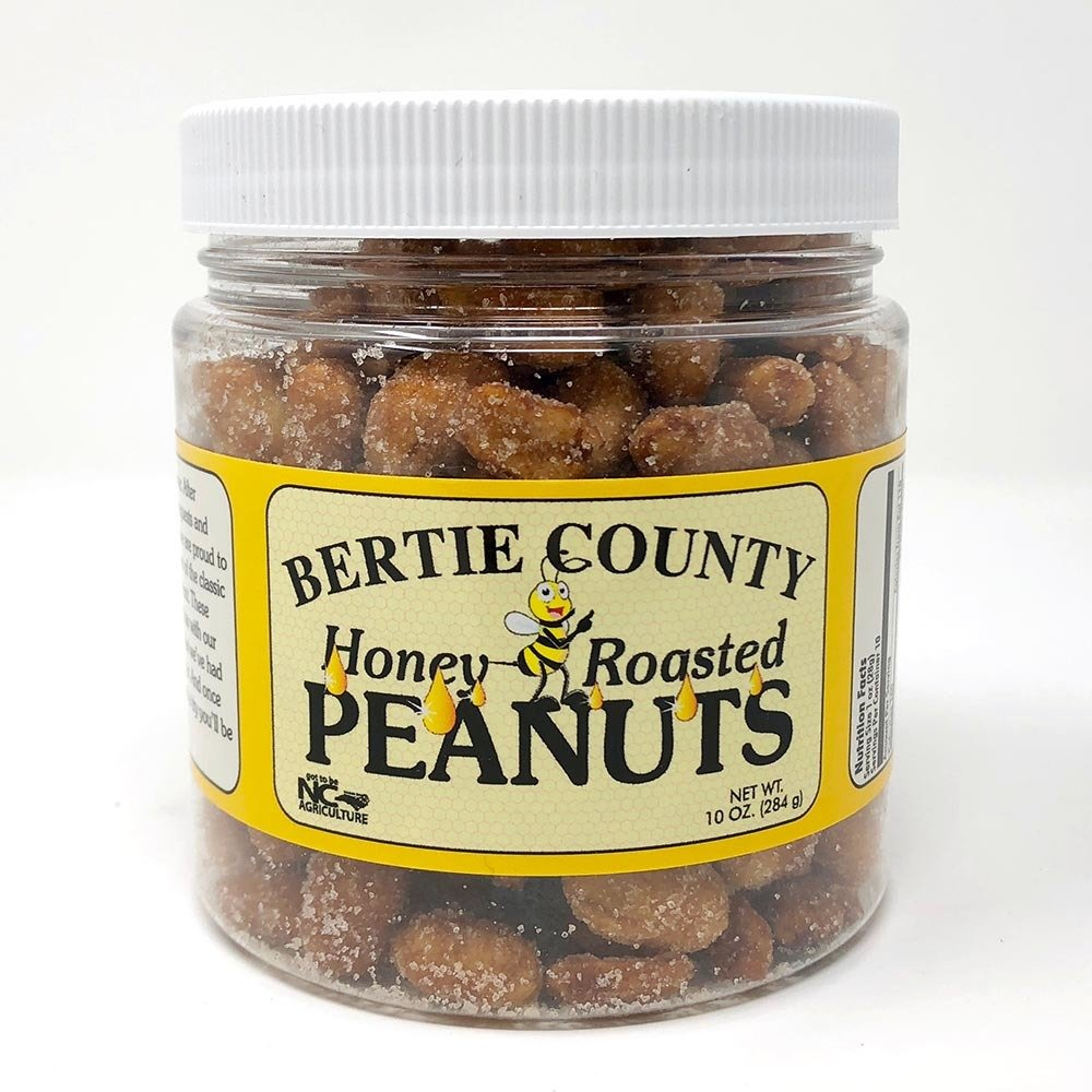 Bertie County Honey Roasted Peanuts 00022