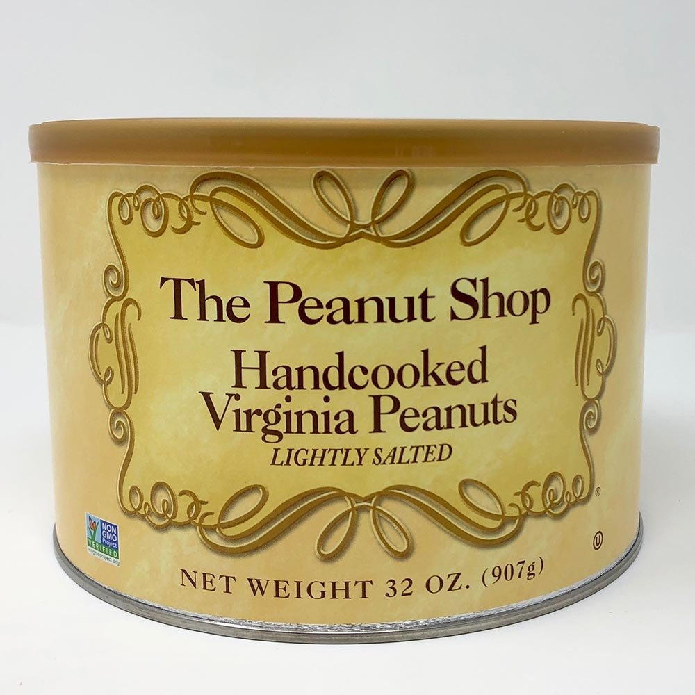 The Peanut Shop Hand-cooked Virginia Peanuts (Lightly Salted) 00024