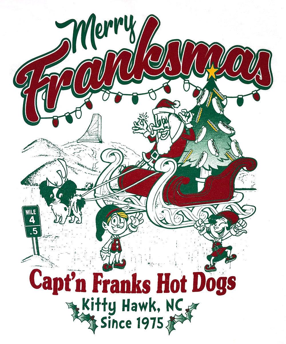 Merry Franksmas - Long Sleeve T-Shirt 00030