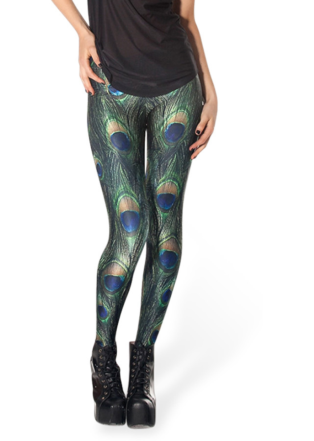 Peacock Pride Leggings