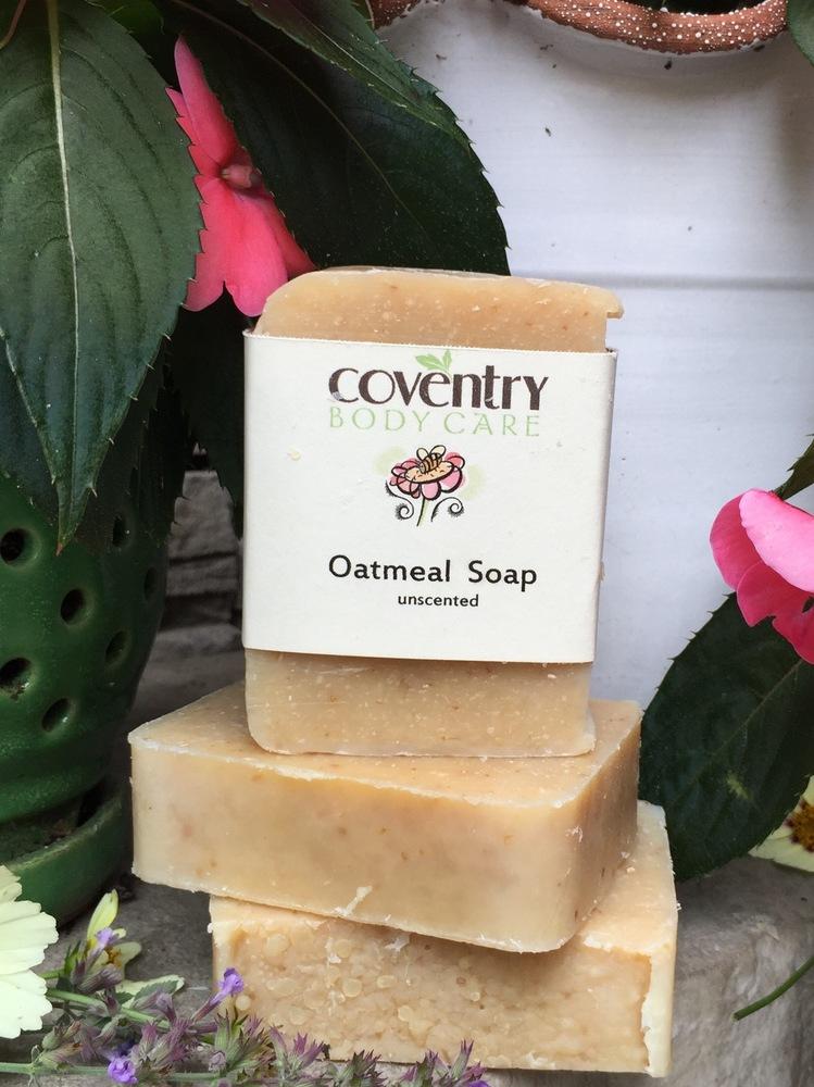 Oatmeal Honey Soap Bar (unscented)
