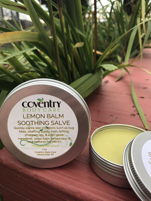 LEMON BALM  Salve with TEA TREE EO