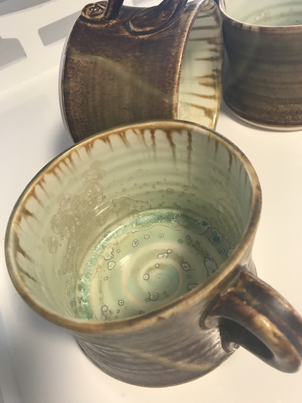 Glazed Pottery Mug