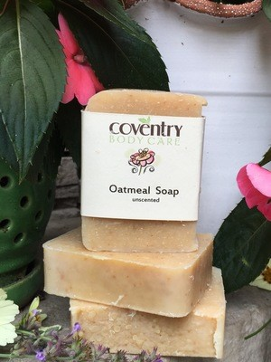 Oatmeal Honey Soap Bar (unscented)