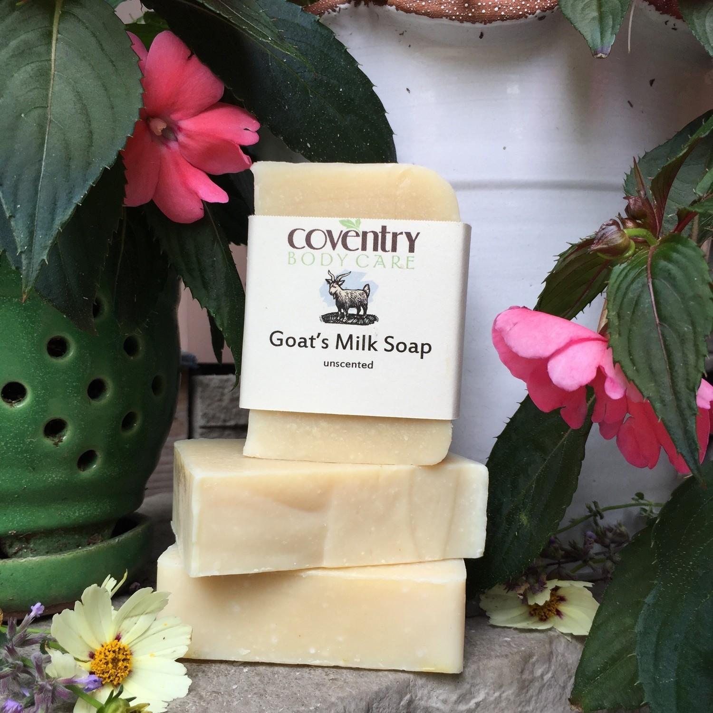 Goats' Milk Soap Bar (unscented)