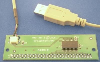 USBmicro U401 Versatile I/O CGU401