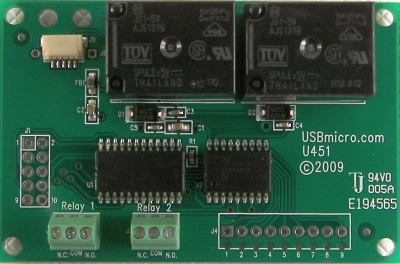 U451 USB Relay Interface w/cable