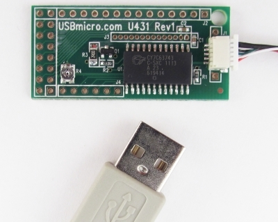 U431 USB LCD Interface w/cable CGU431