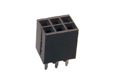 6-position Pin Socket