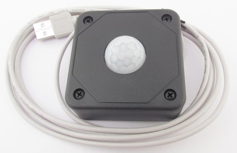 USB PIR Motion Detector with box CGUSBPIRBOX1