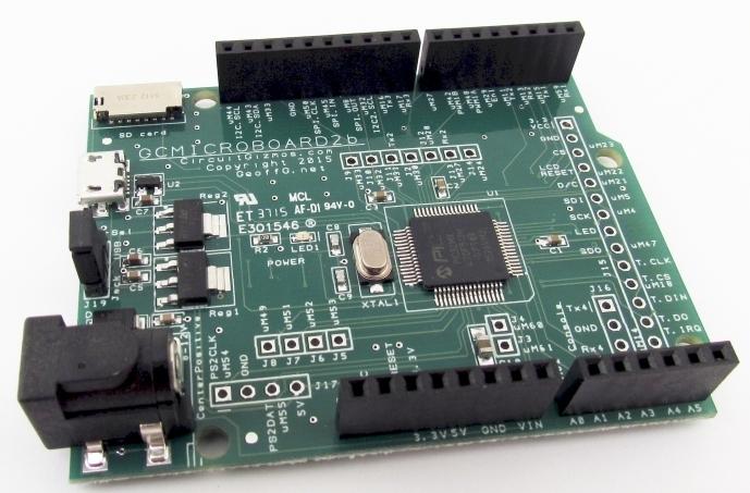 CGMICROBOARD2 Micromite Board CGMICROBOARD2