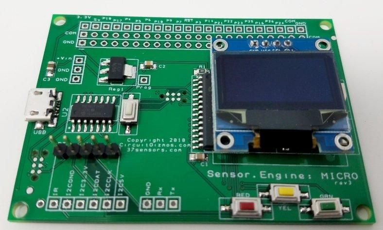 Sensor.Engine:MICRO (prototype run)