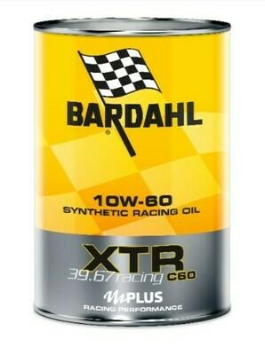 Olio motore BARDAHL XTR RACING 10W60