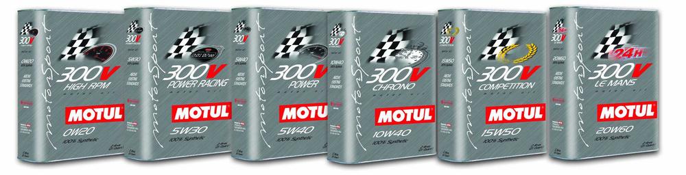 Olio motore MOTUL 300 V COMPETITION