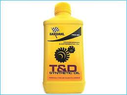 Olio cambio BARDAHL T&D 75W90