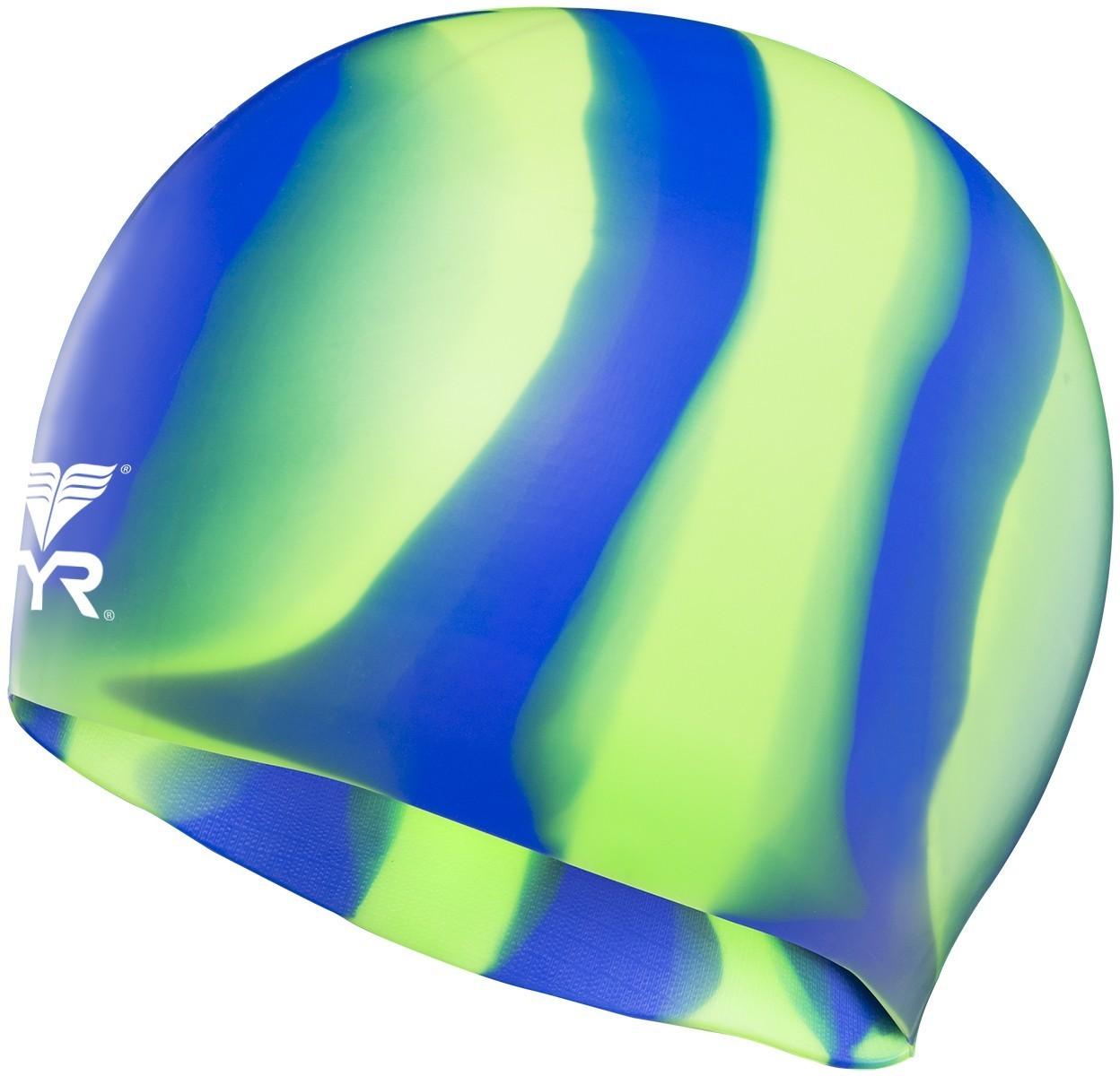 TYR Silicone Multicolor Caps