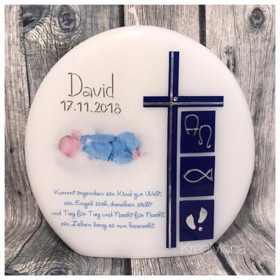 Tischkerze David