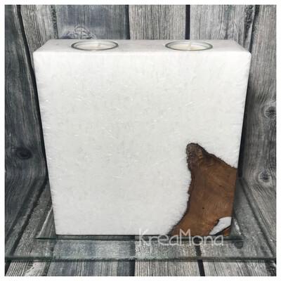 Kristall Holz Quader