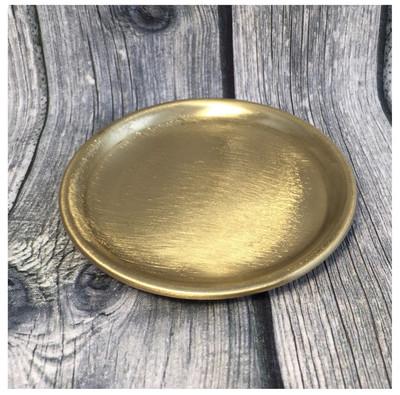 Teller gold 10cm