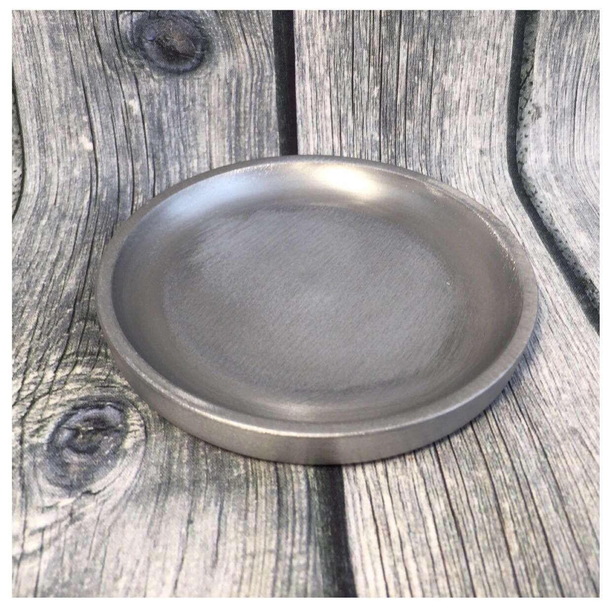 Teller Silber 10cm
