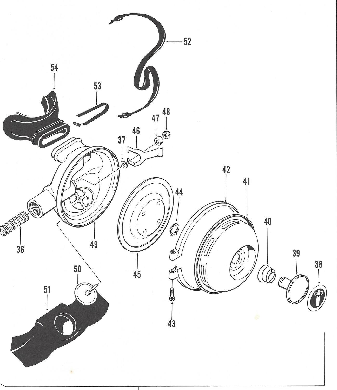 US Divers 1085 Metal 2nd stage service kit, Conshelf, Aquarius, Calypso