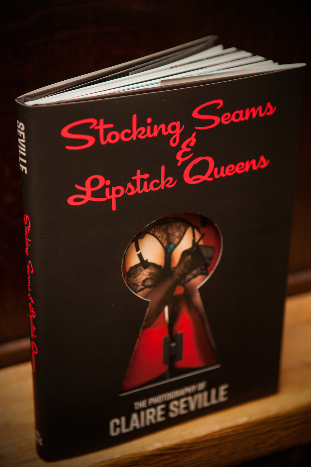 UK ONLY Stocking Seams & Lipstick Queens by Claire Seville
