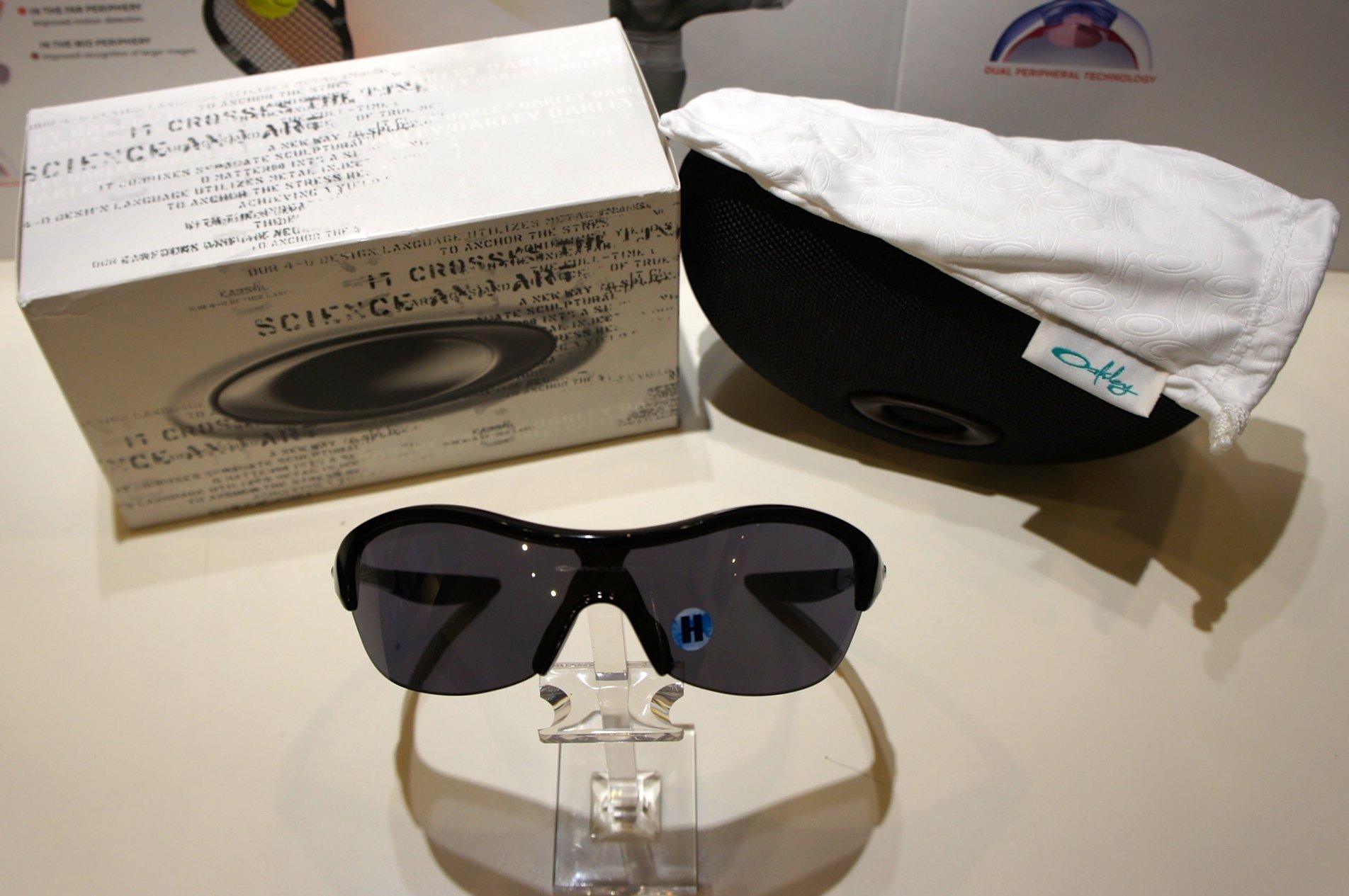 Oakley Endure PACE - Metallic Black - Black Iridium 9072 09-801