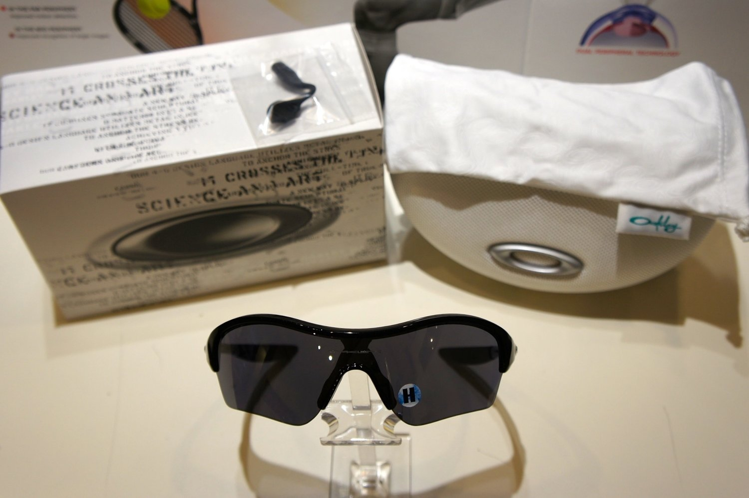 Oakley Endure EDGE - Metallic Black - Black Iridium