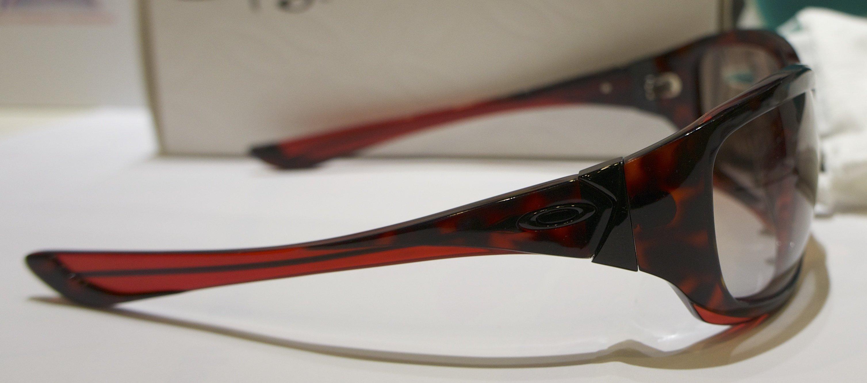 Oakley Disobey - Red Tortoise - Black Gradient