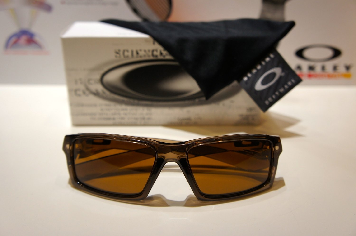 Oakley Twitch - Brown Smoke w - Dark Bronze