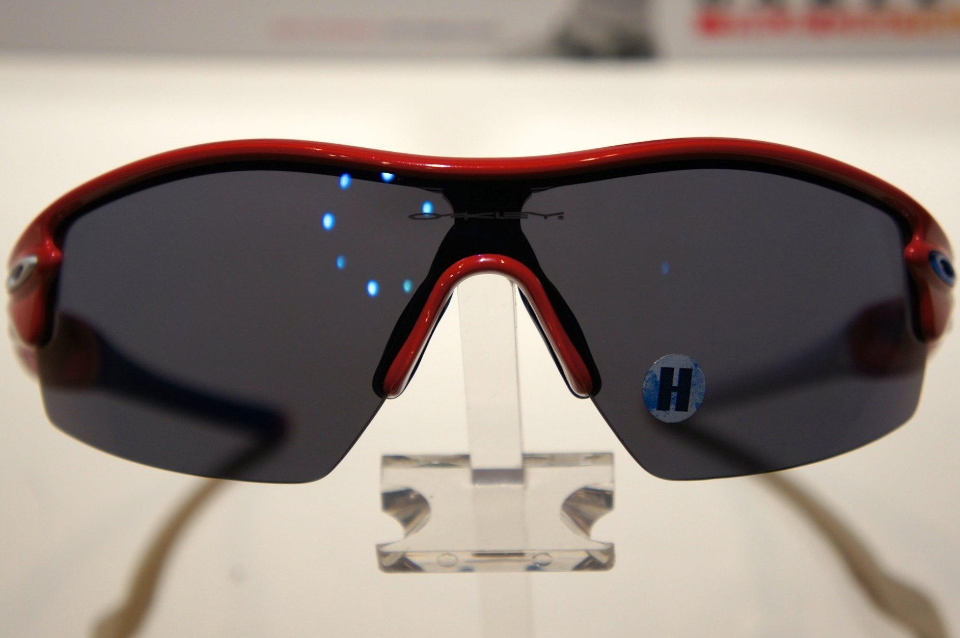 Oakley Radar Pitch Limited Edition Norway - Red w - Ice Iridium