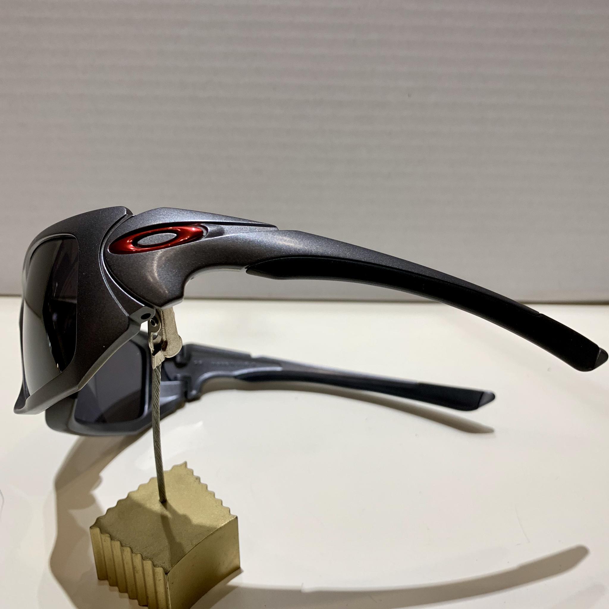 Oakley Scalpel - Dark Grey - Black Iridium (custom) 9095-04C